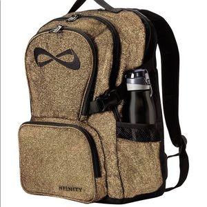 Nfinity Gold Glitter Backpack